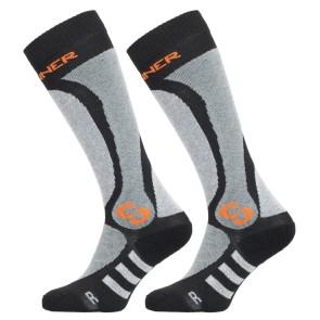Sinner Pro socks black-grey-orange - 2 pair