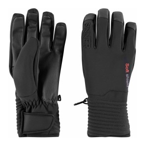 Sinner Ski mont softshield glove black 5K