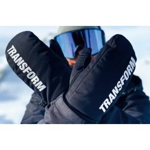 Transform The K.O. snowboard mitten gloves 15K black