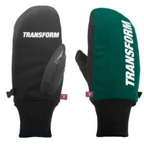 Transform The K.O. snowboard mitten gloves teal