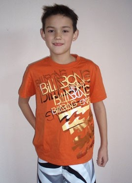 Billabong Circle of trust T-shirt orange