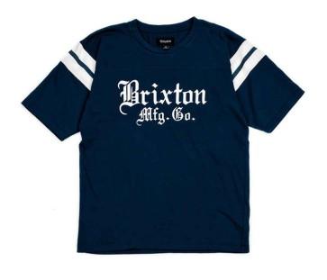 Brixton Vincent Knit T-shirt navy
