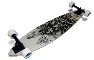 Arbor Fish bamboo 39'' complete longboard