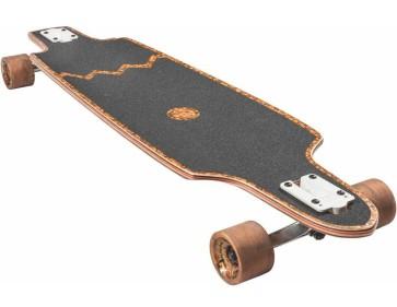 """Globe Spearpoint 40"""" cork zagged complete longboard"""