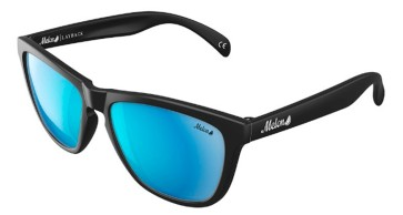 Melon Layback matte black krypton polarised sunglasses