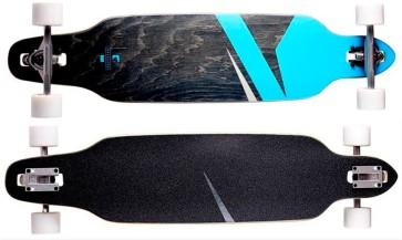 "RAM Lokz 38""  longboard complete marina blue"