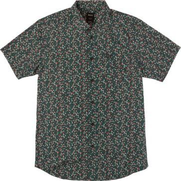 RVCA Top Poppy short sleeve shirt federal blue