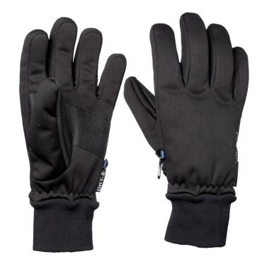 Sinner Canmore ski gloves black 6K