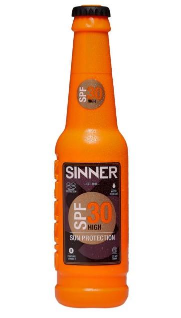Sinner UV Creme bottle 200 ml SPF 30