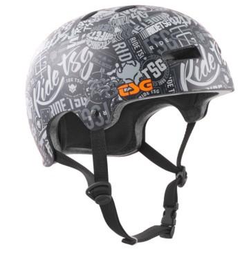 TSG Evolution skate helmet black