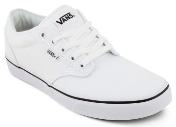 Vans Atwood Black foxing shoes white-white