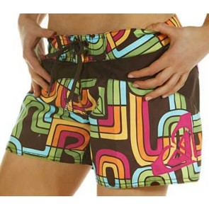Roxy Bright Light boardshort coffee
