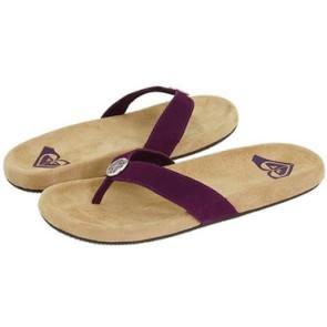 Roxy Vamonos ladies slippers brown