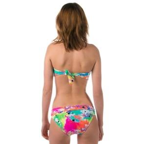 Roxy No worries roll top brief bikini