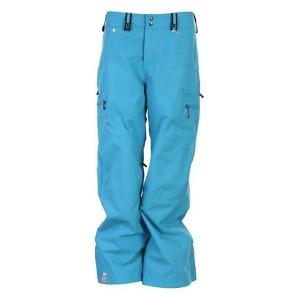 Bonfire Prism snowboard pant crystal blue