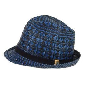 Quiksilver Saga Chapeau de paille hyperpurple (bleu-noir)