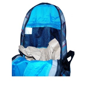 O'Neill AC Moving sac à dos noir/bleu 15 L