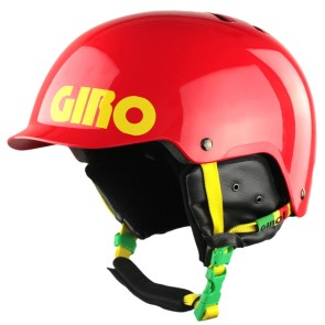 Giro Surface Red snowboard helmet