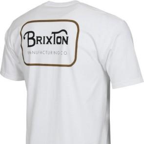 Brixton Grade Standard T-shirt blanc