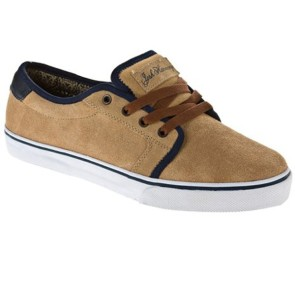 Fallen Forte skate shoes khaki / midnight blue