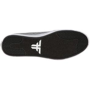 Fallen Daze chaussures blanc / rayures noir