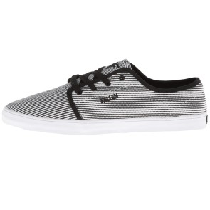 Fallen Daze shoes white / black stripes