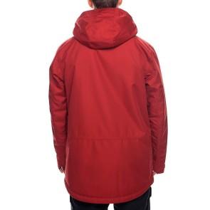 686 Anthem Veste de snowboard isolée rouille rouge 10K