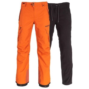 686 Smarty 3 in 1 cargo snowboard pant copper 20K