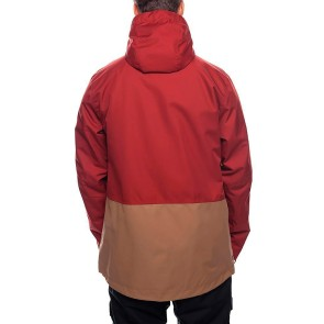 686 Smarty Form 3-in-1 veste de snowboard rusty red 20K