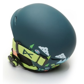 Anon Define snowboardhelm dark green with goggle (52-55 cm)