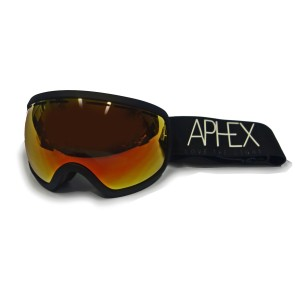 Aphex Baxter goggle black - revo red lens