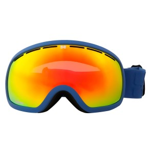 Aphex Baxter goggle blue with revo red lens