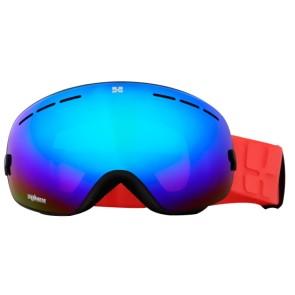 Aphex Krypton junior masque de ski noir - revo bleu lens