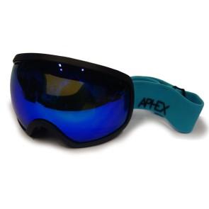 Aphex Baxter black - revo blue goggle