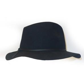 Brixton Wesley Fedora hat black