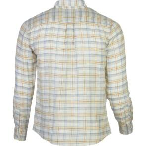 Brixton Memphis chemise à manches longues crème tissé