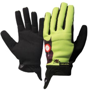 Demon Feinds pipe gloves green