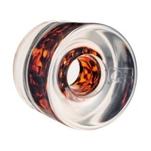 Globe Icon Wheel clear tortoise core 65mm 78A