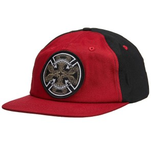 Independent Cab Flourish snapback black/maroon