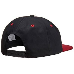 Independent Cab Flourish snapback cap black/maroon