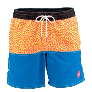 O'Neill wave cult minimal shorts grey AOP