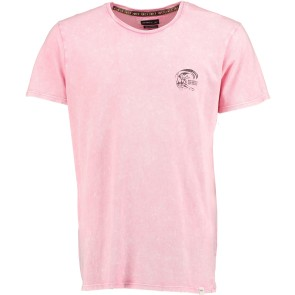 O'Neill Wave cult backdrop T-shirt popstar pink