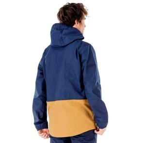 Picture Clothing Surface Veste bleu foncé-beige