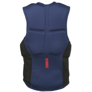 ProLimit Slider vest half padded FZ blue-red