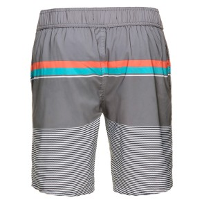 Rehall Rush R boardshort Rayures fines grises