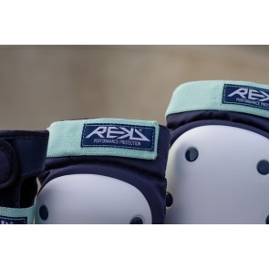 REKD Heavy Duty ensemble de coussinets robustes bleu-menthe