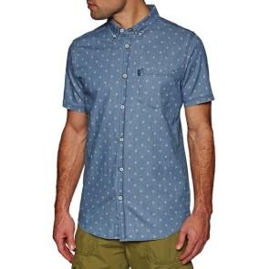 Rip Curl Bondi shirt short sleeve blue