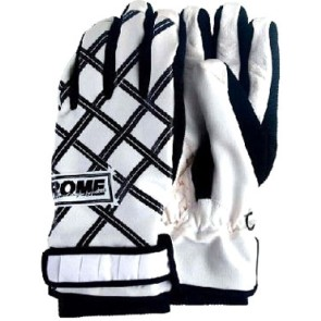 Rome Reign snowboard gloves black-white
