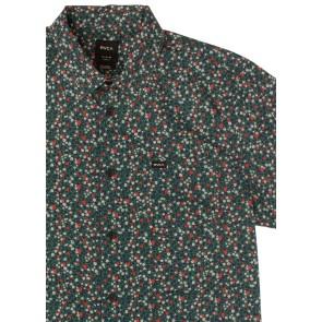 RVCA Top Poppy chemise Bleu fédéral (XL)