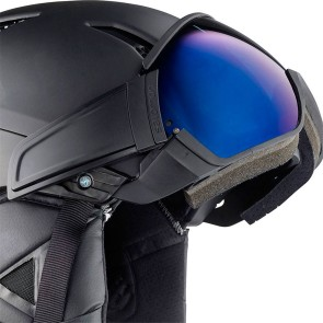 Salomon Driver-solar helmet with visor all black